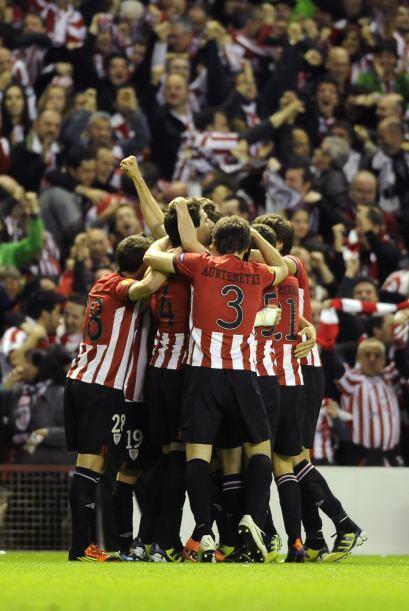 Pero justo al siguiente minuto, el Bilbao respondió de inmediato...