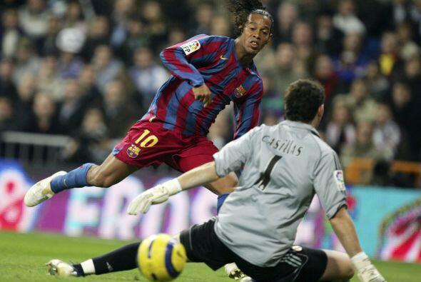 Pero si hablamos de otro brasileño, de otro Ronaldo, tenemos que pararno...