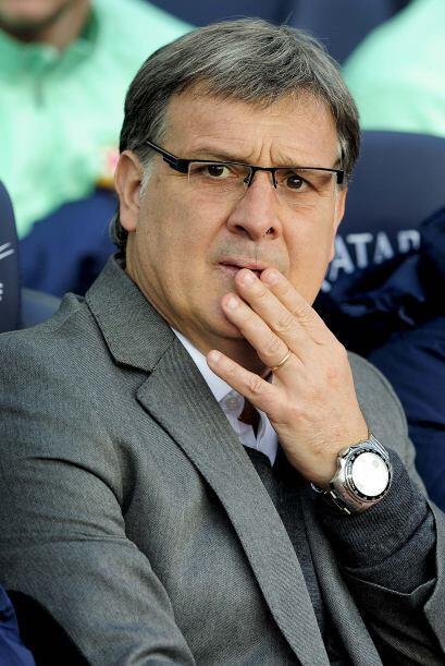 El Barcelona del 'Tata' Martino disputó su primer partido del 2013 al re...