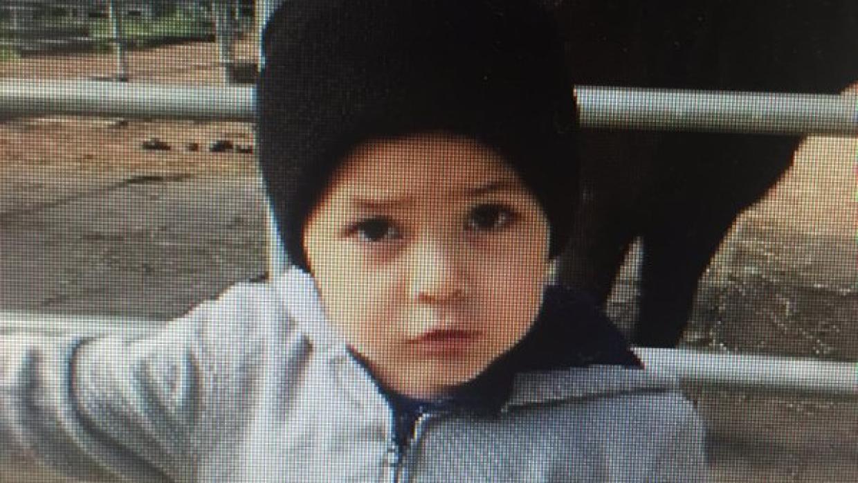 Jason Vargas, de dos años, fue secuestrado en la ciudad de Soledad.