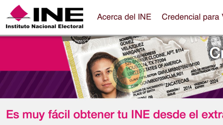 Credencial elector