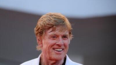 El actor de cine Robert Redford es uno de los firmantes de la carta al p...