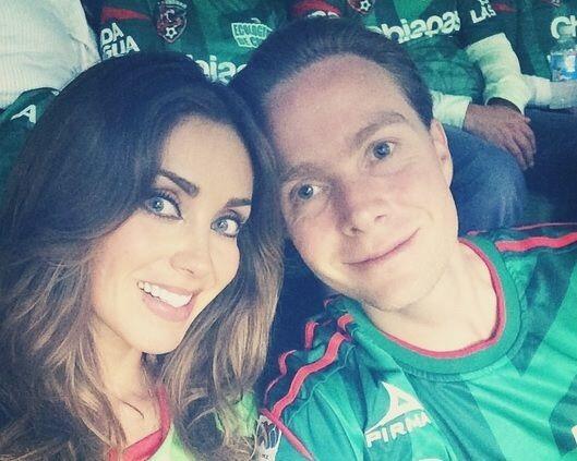 ¿Te imaginas cómo saldría un retoño de Anahí y Manuel? ¡Sería hermoso!