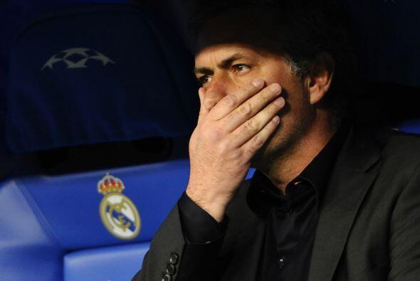 El real Madrid de José Mourinho volvía a esta fase después de siete años...