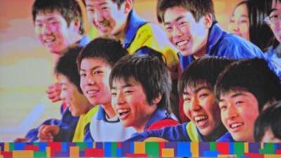 Momento de la presentaciónd e Tokio ante el Comité Olímpico Internacional.