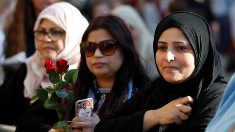 Muslims are among the mourners in Manchester after Monday night's suicid...