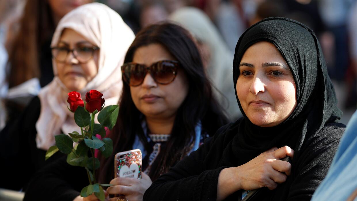 Muslims are among the mourners in Manchester after Monday night's su...
