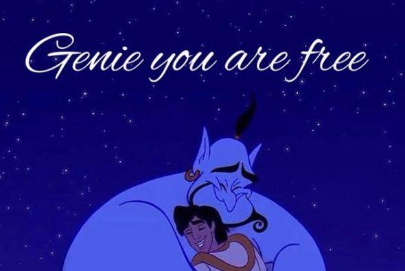 """Quienes se recuerdan del famoso """"Genie"""".   Créditos: Twitter/Instagram"""