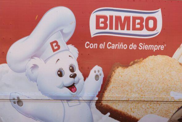5.- Bimbo tiene un valor de 2,364 millones de dólares.