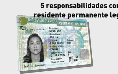 Conoce los 5 deberes de todo residente permanente legal
