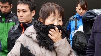 En esta imagen sin fecha, Chisako Kakehi, conocida como la 'viudad n...