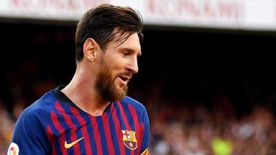 ¡Pero qué caño, Lio! Messi se divierte hasta en los entrenamientos