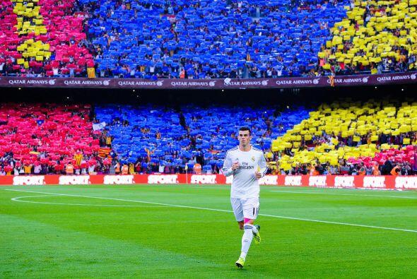 Gareth Bale vivió su primer 'Clásico' en España.