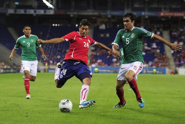 En un viaje a España, Chile intentó romper el invicto pero no pudo.
