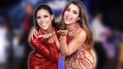 Francisca Lachapel y Clarissa Molina posan juntas en el evento de presen...