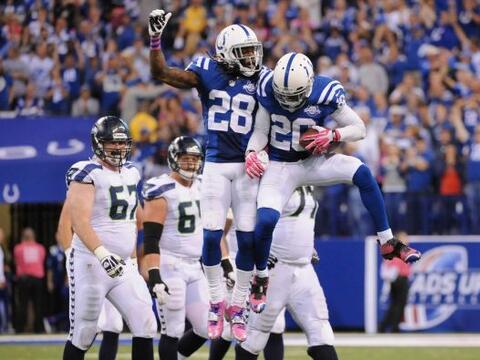 Los Indianapolis Colts lograron sorprender a los Seattle Seahawks y le q...