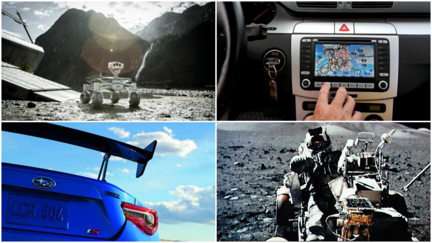 collage luna autos