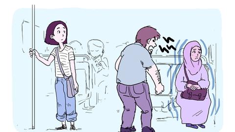 El cómic de la artista Marie-Shirine Yener