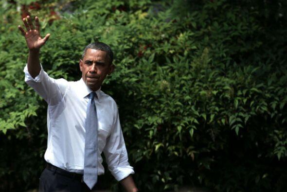 """Obama celebró el hecho. """"La decisión de hoy sobre DOMA es un histórico p..."""
