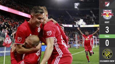 NY Red Bulls arrolla a Columbus y disputará la Final de Conferencia del Este contra Atlanta United