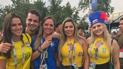 Las fanáticas del mundo se tomaron el Luzhniki para vivir la gran final de Rusia 2018