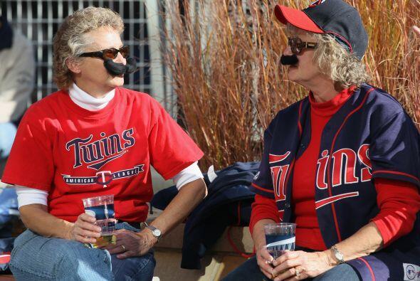 Los fanáticos de los Twins presentían que su equipo empataría la serie,...