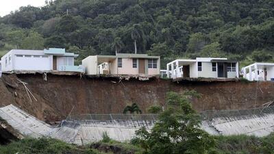 Derrumbes de terreno en Ceiba