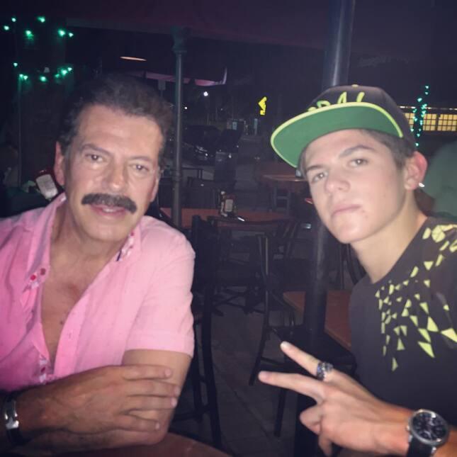 Los hijos de famosos de telenovela que son igual de guapos que sus padres
