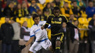 Johan Venegas y Waylon Francis se enfrentaron en los Playoffs de la MLS.