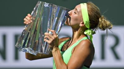 Vesnina nunca había pasado de la tercera ronda antes de este a&nt...