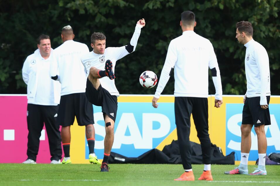 Un empate dejará a Alemania con el cupo directo al Mundial de Rusia. Sus...