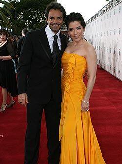 Alessandra y Eugenio dijeron estar felices de participar en la entrega d...