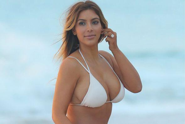 Kim Kardashian tampoco nos iba a decepcionar. Mira aquí los videos más c...