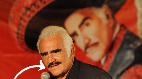Vicente tiene el bigote más famoso de México.