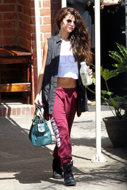 Cuando se trata de andar con su 'street style', Selena ha demostrado ser...