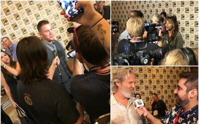 """Imágenes de la rueda de prensa de """"Kinsgman: The Golden Circ..."""