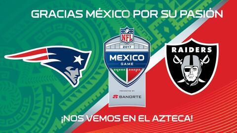 NFL México agradeció a los aficionados por agotar las entradas.
