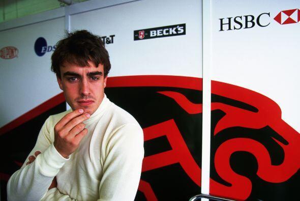 Después de su temporada de debut, Alonso quedó listo para dar el gran sa...