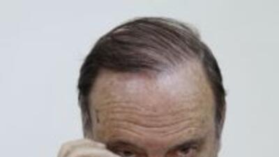 El presidente de la empresa Soma Holding, Alp Gurkan, ofrece una rueda d...