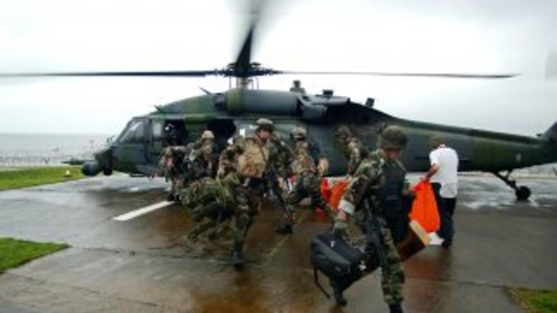 Los primeros militares estadounidenses llegaron a Uganda el pasado miérc...