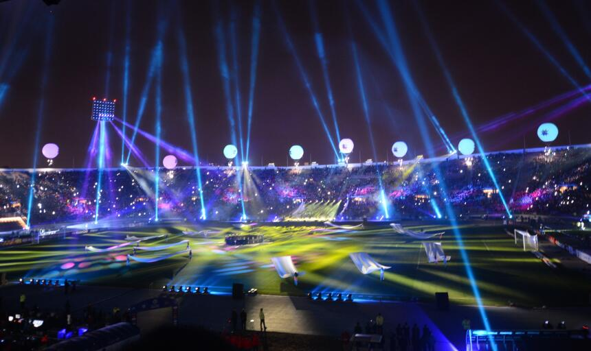 La Copa América de Chile tuvo una inauguración espectacular no te pierda...