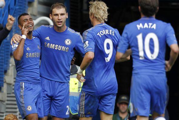 """Tras marcar el gol del triunfo de los """"Blues"""" ante el Reading y con esto..."""