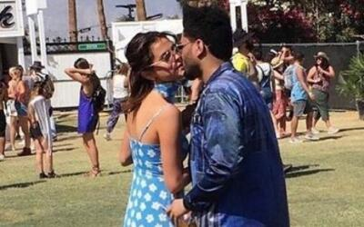 Selena Gómez y The Weeknd se muestran muy cariñosos en Coachella