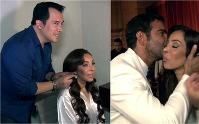 Desde la sesión de maquillajes hasta la sorpresiva presentación de Pablo...