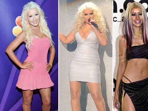 Christina Aguilera tiene curvas sin frenos.
