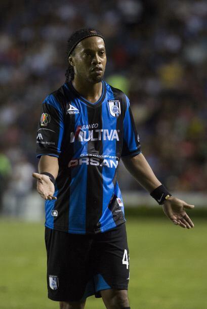 Algo en lo que le puede afectar al Querétaro con la llegada de Ronaldinh...