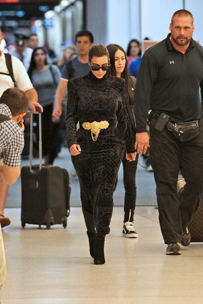 La estrella de televisión llegó de París directo a Miami, pero se equivo...