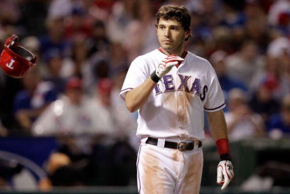 9 IAN KINSLER:El segunda base de los Rangers es también un peligr...