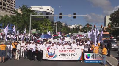Puerto Rico marcha por la salud