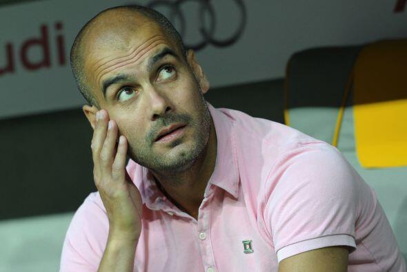 Guardiola quedó conforme con el rendimiento de sus jugadores.